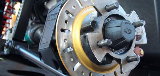 Účinné hydraulické brzdy