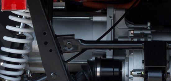 Tichý elektrický motor