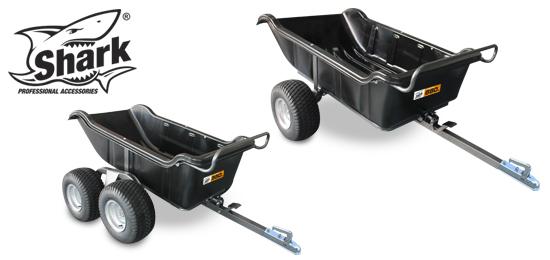 SHARK - vozíky GARDEN 550 / 680