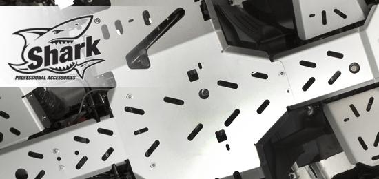 SHARK - hliníkové kryty podvozku