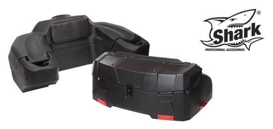 Kvalitní ATV boxy SHARK