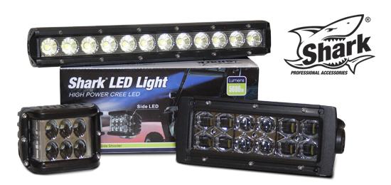 SHARK - LED světla a LED světelné rampy