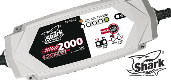 Inteligentní nabíječka baterií SHARK