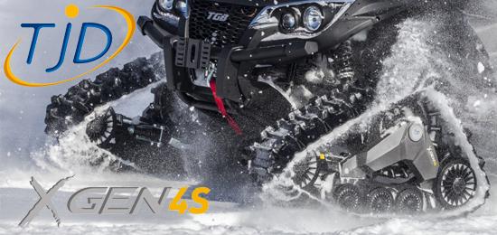 TJD - kanadské sněžné ATV pásy
